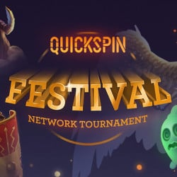 Win a Share of the €100k Prize Pool of the Quickspin Festival Network Tournament