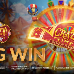 Lucky Players Win €2.8 Million on Crazy Time