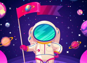 Take part in the Interstellar Egg Hunt by Casino Rocket