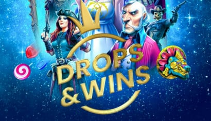 Win up to €10,000 on Drops & Wins at Guts Casino