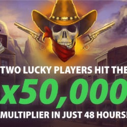 Lucky Players Hit 50,000x Multiplier on Bandits Thunder Link