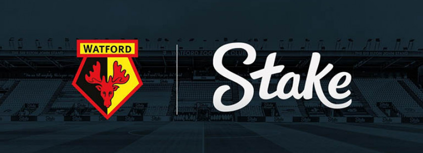 Stake.com and Watford FC Sign Sponsorship Deal