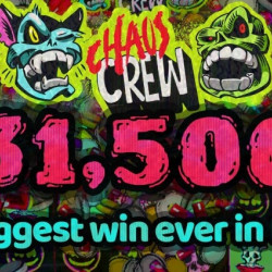 €631,500 Win On Hacksaw Gaming's Chaos Crew
