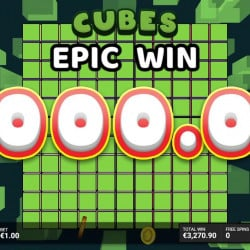 Lucky Player Hits a 10,500x Win on Cubes 2!
