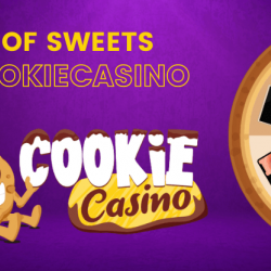 Claim Cash Prizes and Gifts Wheel of Sweets by CookieCasino