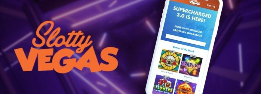 Supercharged Wins Only at Slotty Vegas Casino