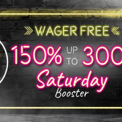 Grab a Weekend Treat with Vegaz Casino's Saturday Booster