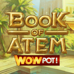 Record €998K WowPot Win on Microgaming's Book of Atem: WowPot Slot