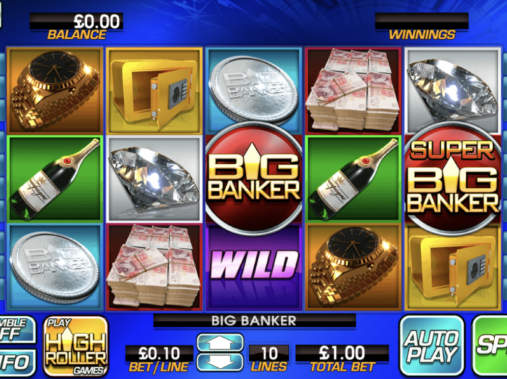 Big Banker – a Blueprint Gaming Slot