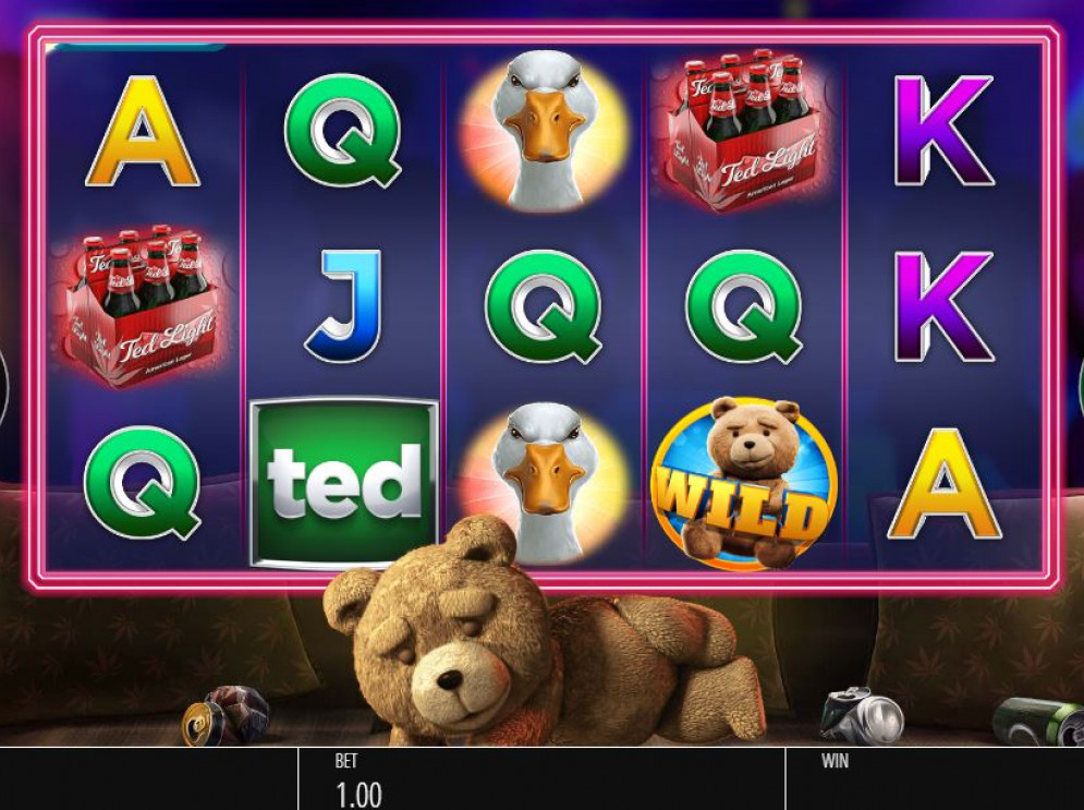 Ted – a Blueprint Gaming Slot