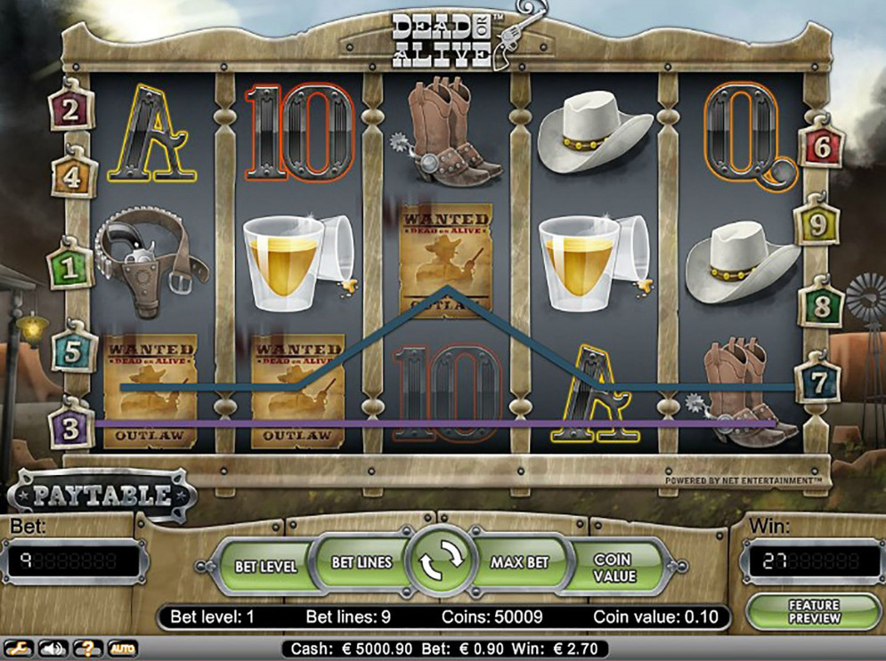 Dead or Alive – a NetEnt Slot