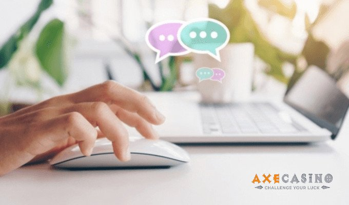 Axecasino Live Chat Support