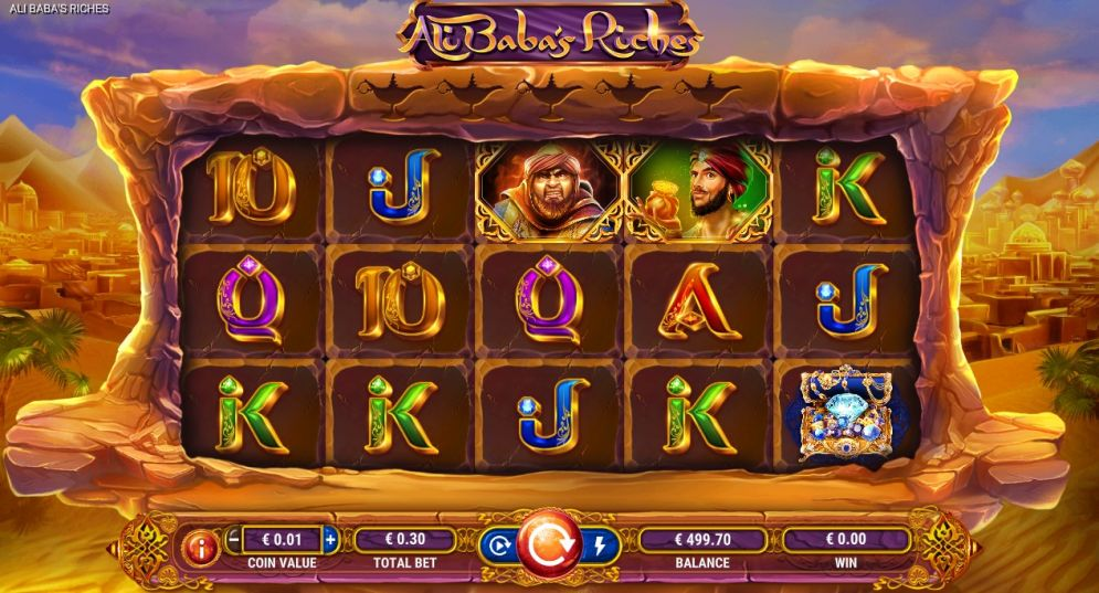 Ali Baba's Riches by GameArt